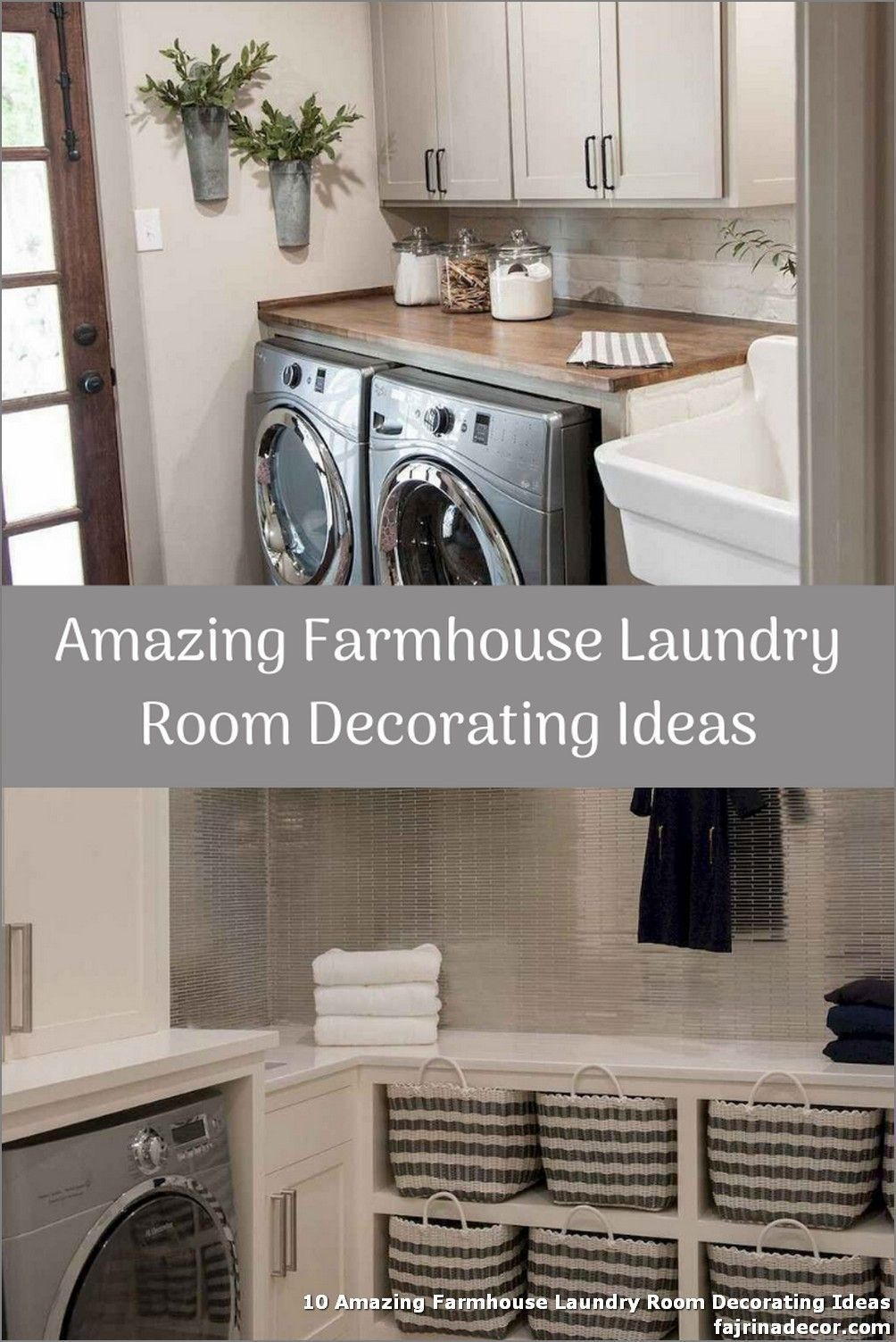 10 Amazing Farmhouse Laundry Room Decorating Ideas  10 Amazing Farmhouse Laundry Room Decorating Ideas  It moreover effortlessly adjustments rig