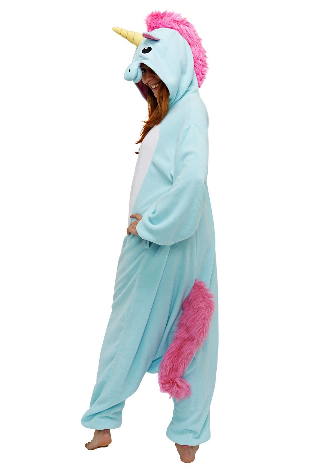 blue unicorn kigu kigurumi animal onesies love