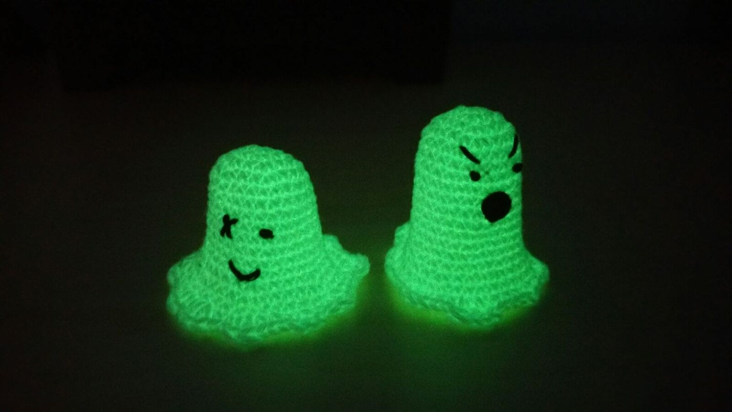 Local free shipping - Spike and Spooky mini glow in the dark finger - glow in the dark halloween decorations