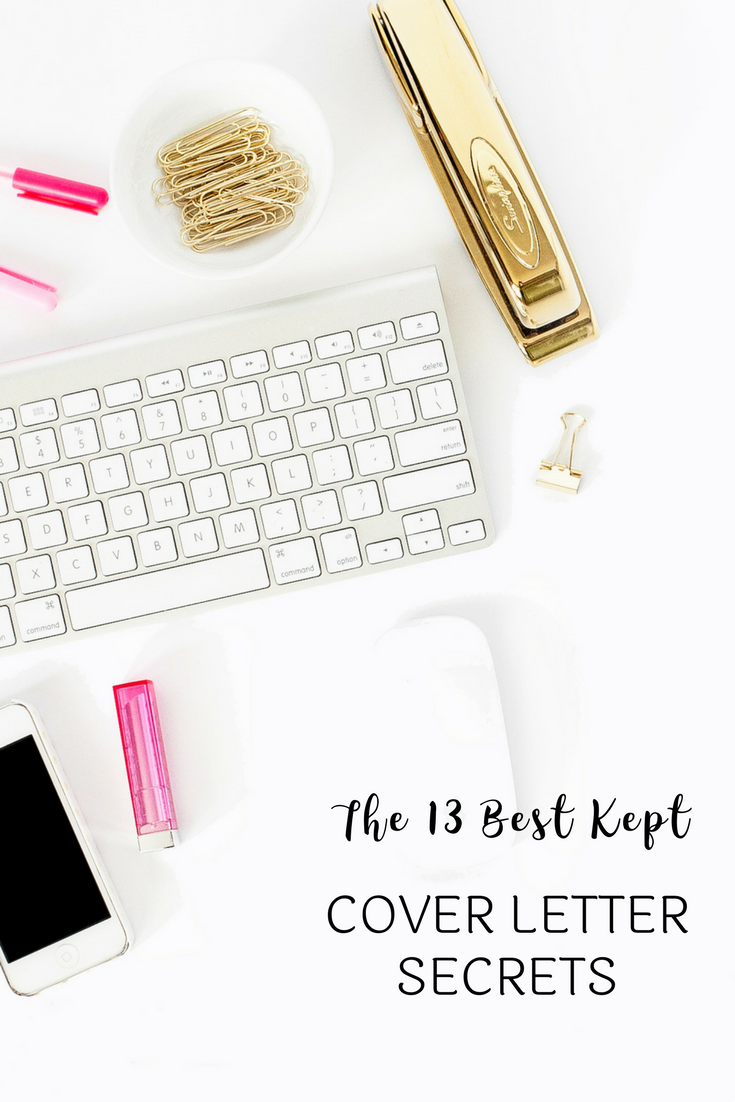 The  BestKept Cover Letter Secrets  Small Things Career And