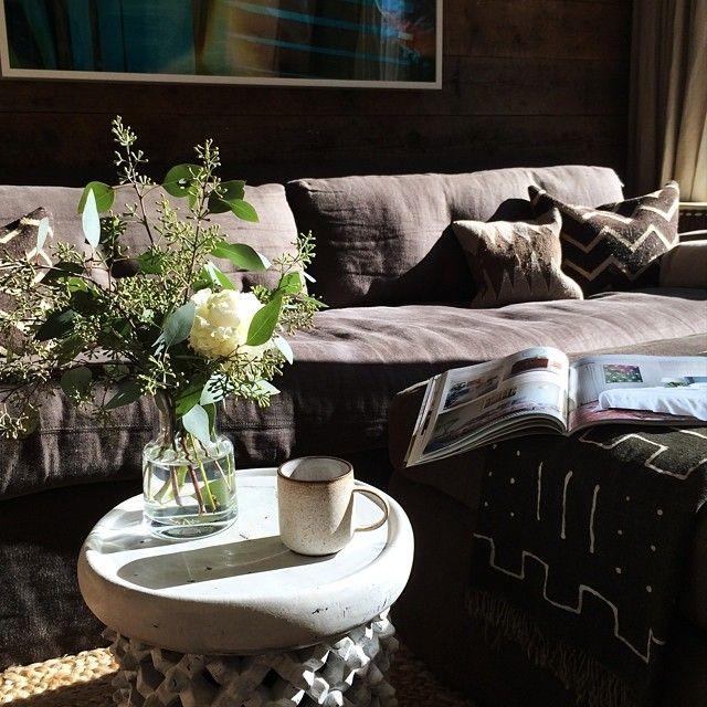 Morning! Coffee + Light + Magazine = SWOON