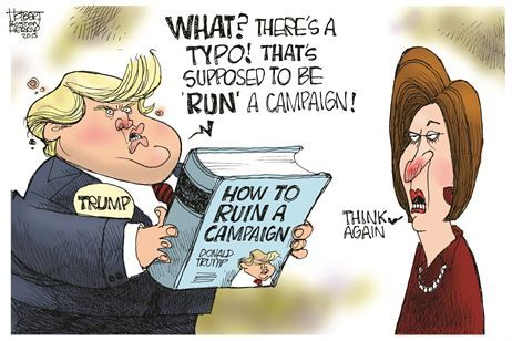 Image result for 2016 elections cartoons