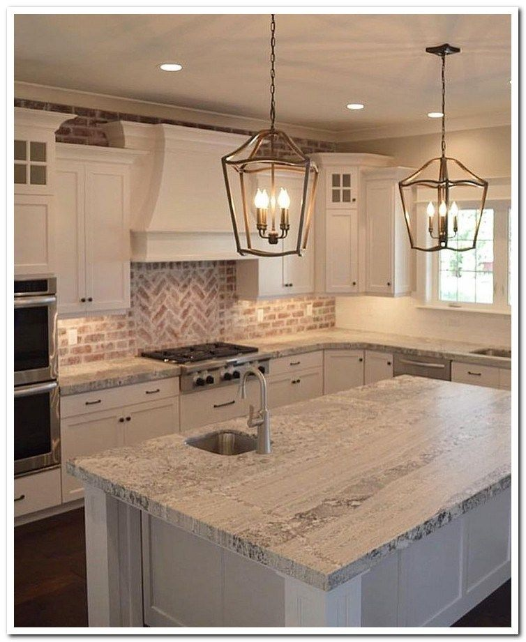 48 farmhouse kitchen remodel ideas 43 #farmhousekitchencountertops