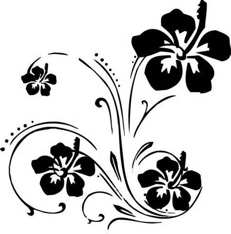 Pin By Tanya R On Scroll Designs Floral Stencil Art