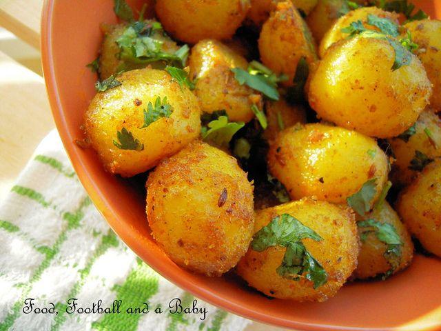Indian Spiced Roast Potatoes