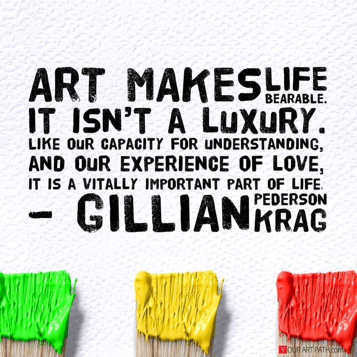 why is art important in our lives