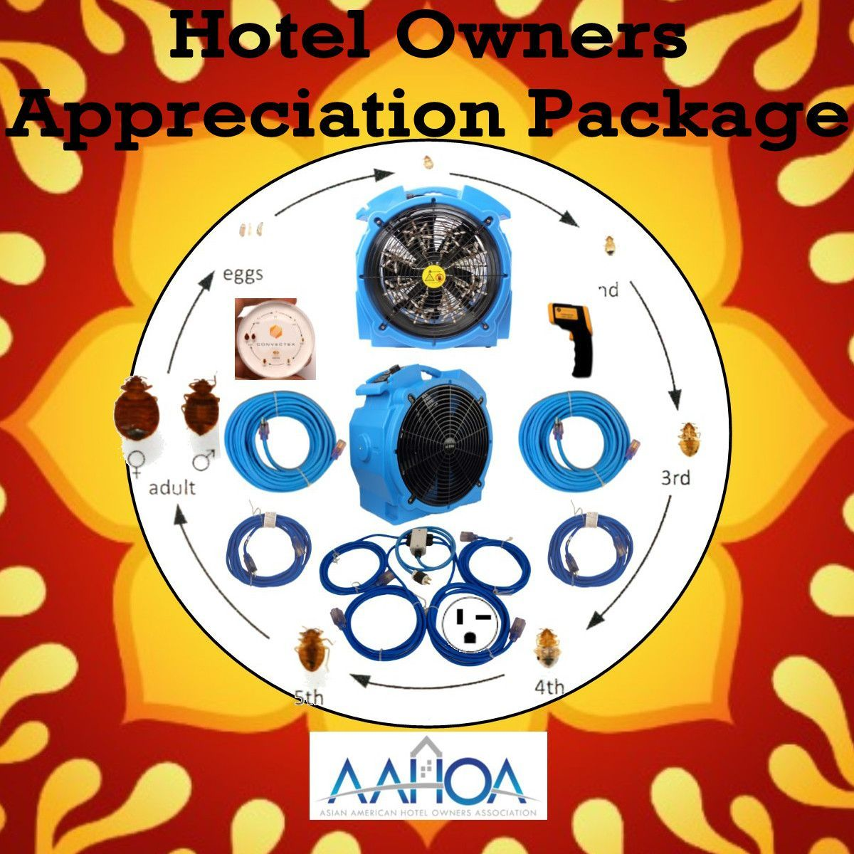 Hotel Owners Appreciation Bed Bug Heat Package Bed Bugs Diy