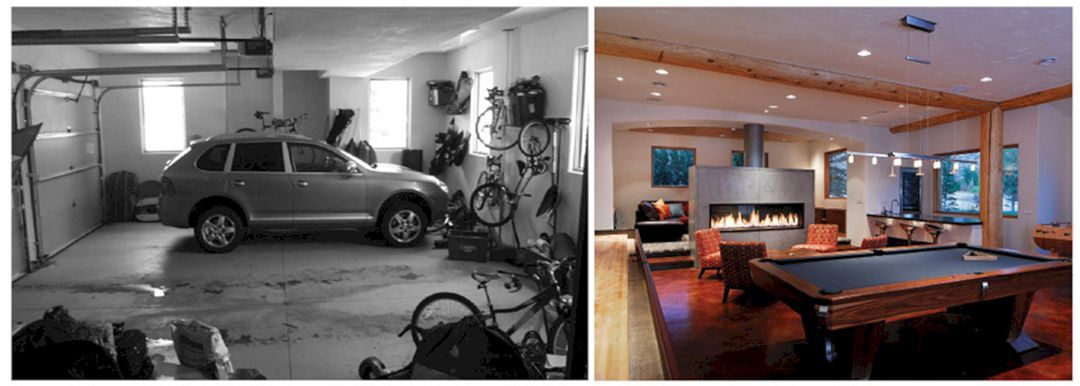 Majestic Best 20 Convert Garage To Guest House Ideas With Before And After Picture Https Freshouz C Garage To Living Space Converted Garage Garage Game Rooms