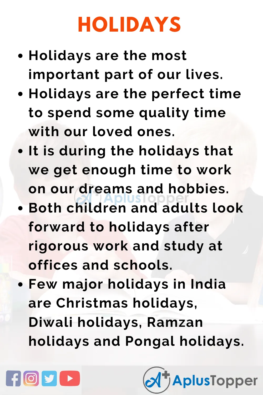 Pin On Essay Vacation Holidays Christma Holiday