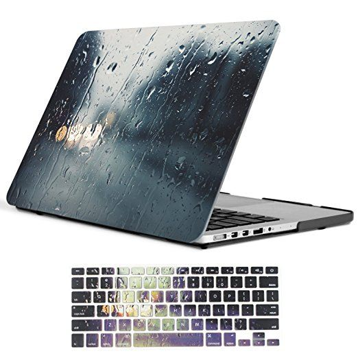 buy popular 3b0e4 25ebe Amazon.com: Macbook Air 13 inch Case, iCasso Art Printing Hard Shell ...