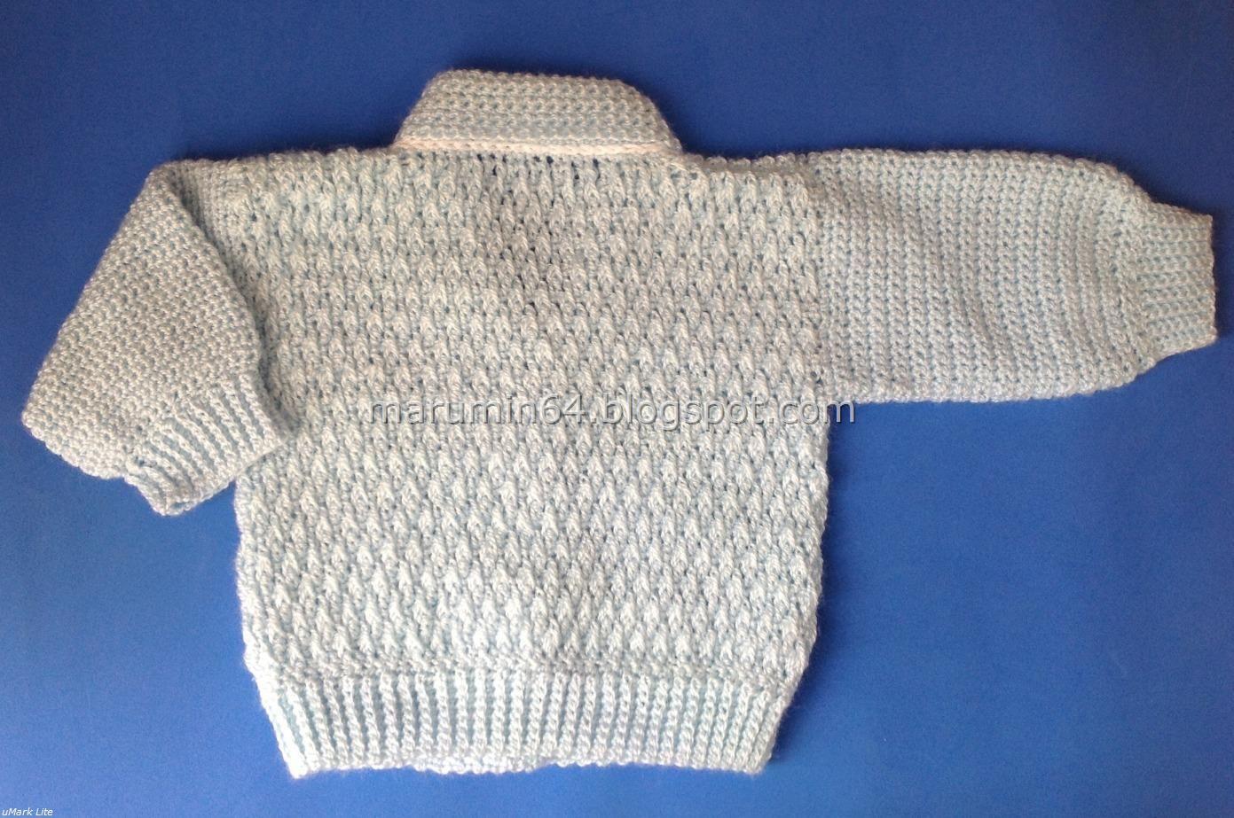Marumin Crochet: Chambritas- chaquetitas - ropones y chompas / Baby ...