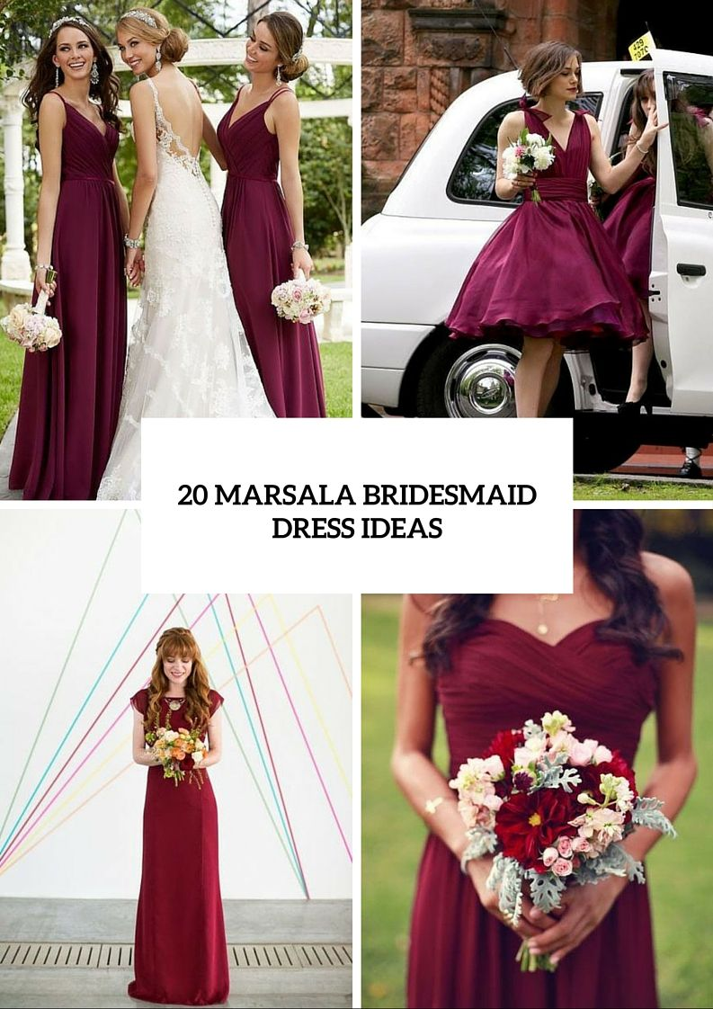 Here are 20 stunning marsala bridesmaid dress ideas for fall weddings, from Weddingomania: As you know, marsala isn't a Pantone color of this year, but it doesn't mean that you can't take it as a main color of dresses for your bridesmaids. Choose it and you won't regret for sure! Such colors as marsala, emerald, deep [...]