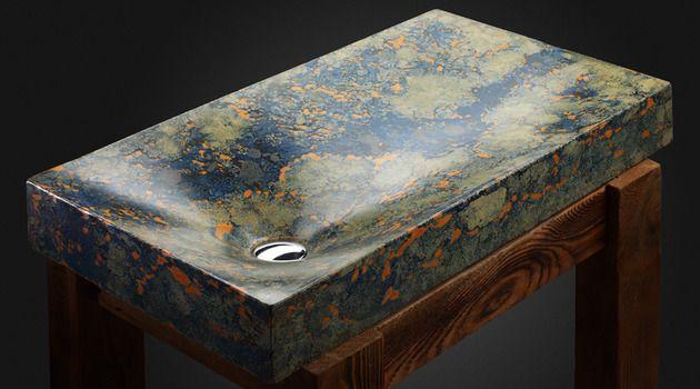 ručne maľované betónové drezy - fúú, paráda :-)   pietra-danzare-concrete-sinks-1.jpg