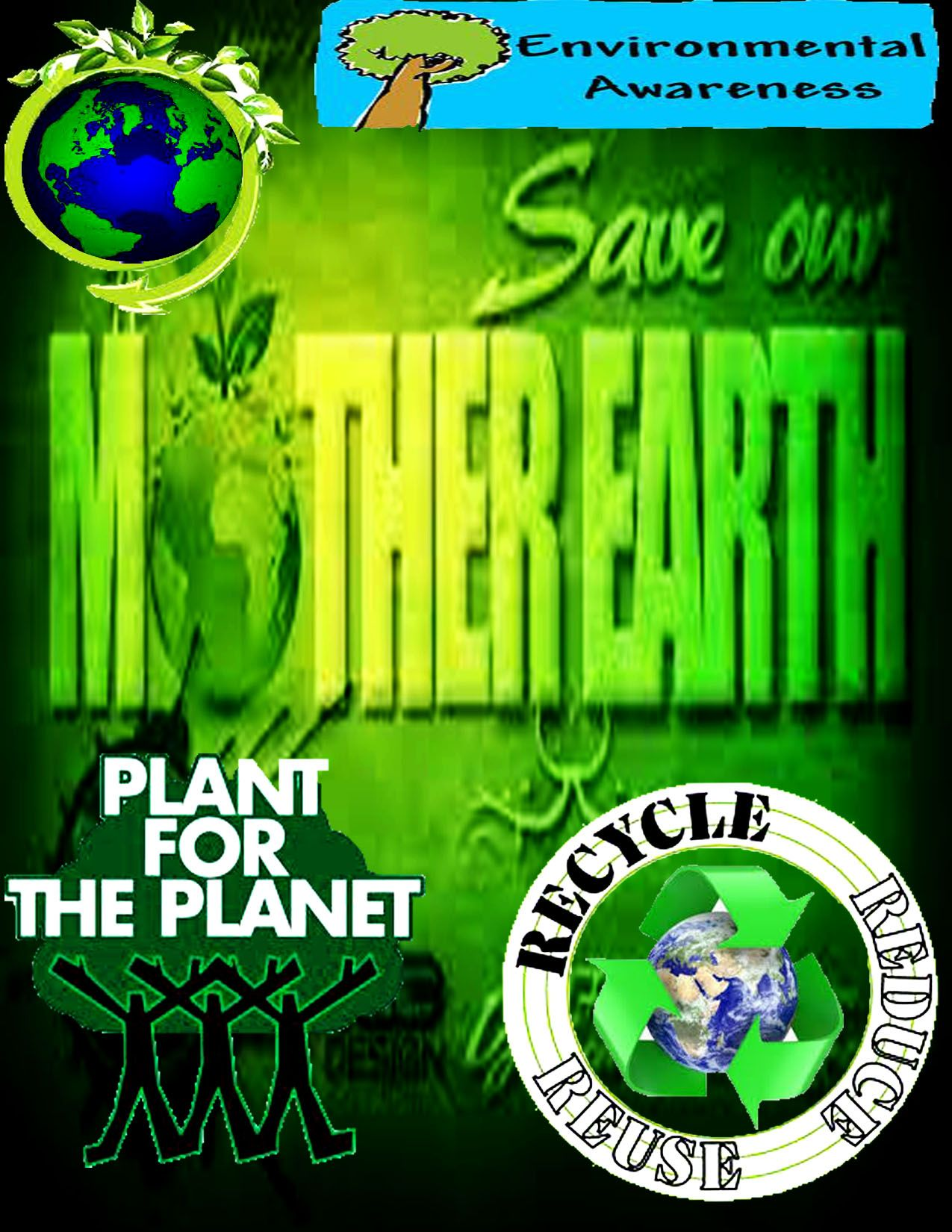 Slogans on mother earth