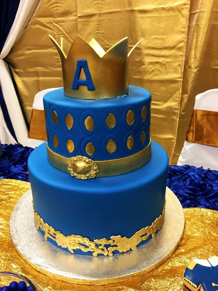 Royal Prince Birthday Party Birthday Party Ideas With Images
