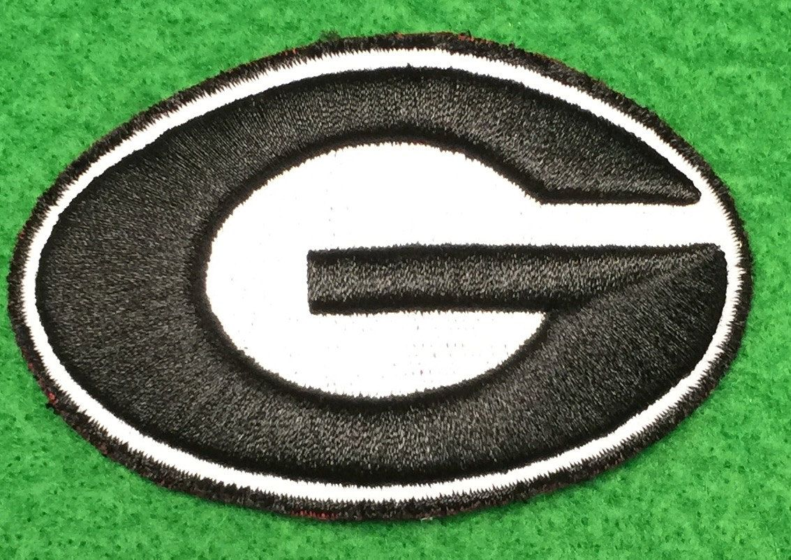 Georgia Bulldogs Uga Embroidered Patch Embroidered Patches Georgia Bulldogs Bulldog