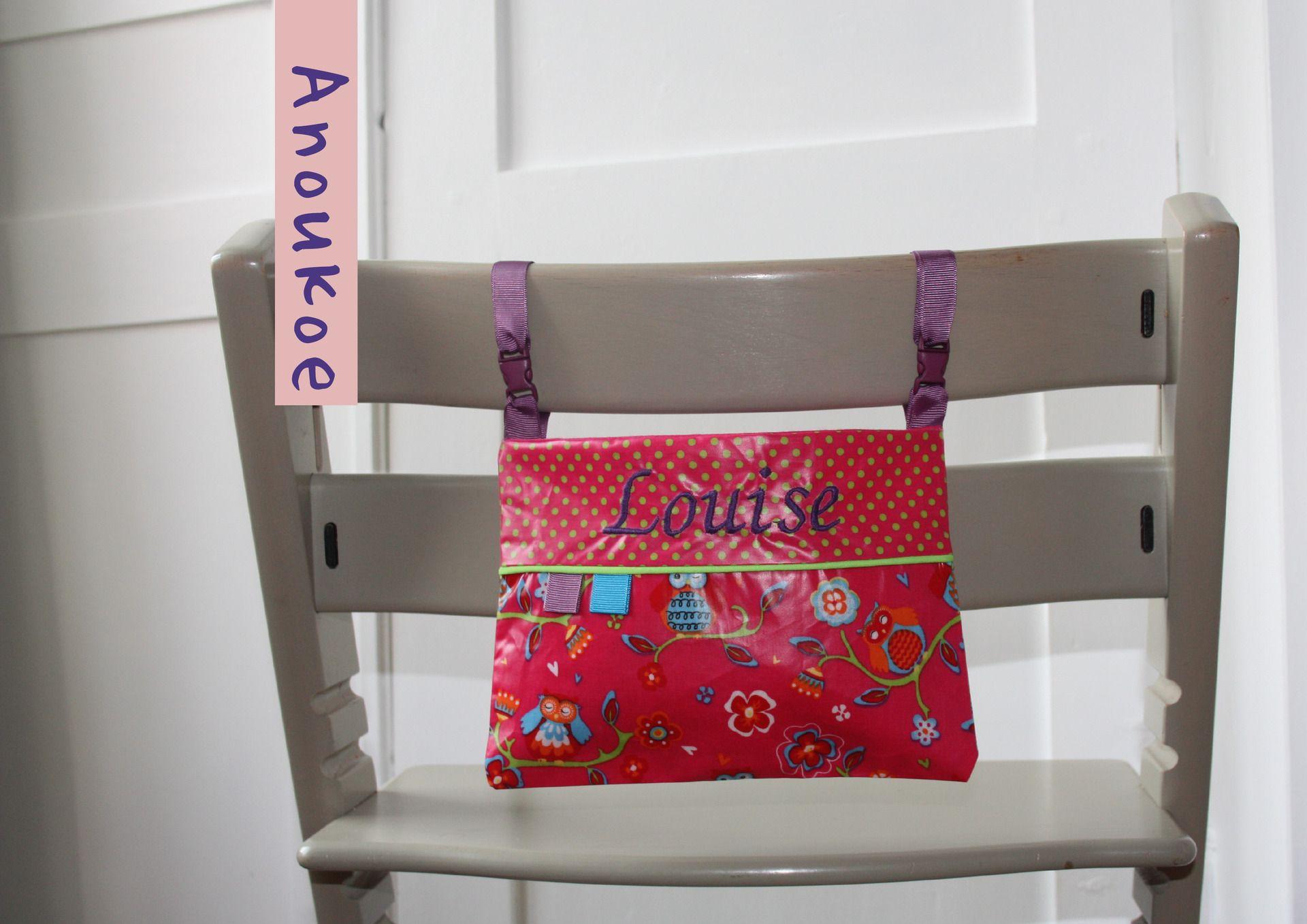 Sac de rangement pour bavoirs ou serviette de table (Rose) : Sacs enfants par anoukoe ...