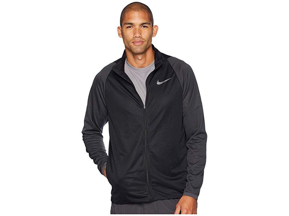 44fb6b1bd Nike Epic Jacket Knit (Black/Anthracite/Metallic Hematite) Men's Coat. Take