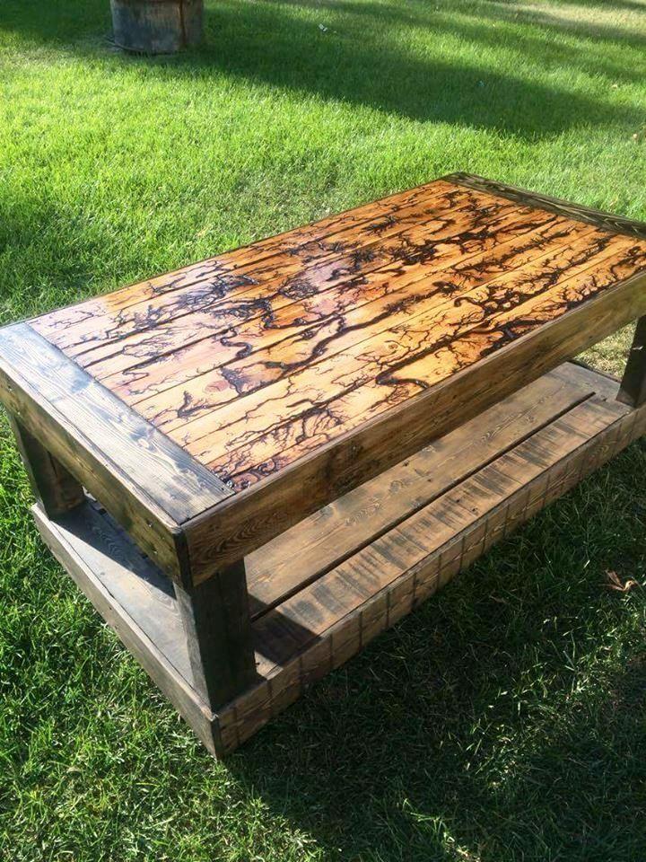 Handmade Pallet Outdoor Coffee Table Jpg 720 960 Diy Pinterest