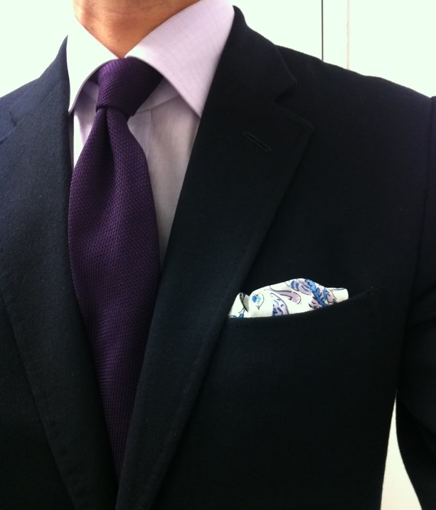 Navy jacket lavender shirt purple tie ps fashion Blue suit shirt tie combinations