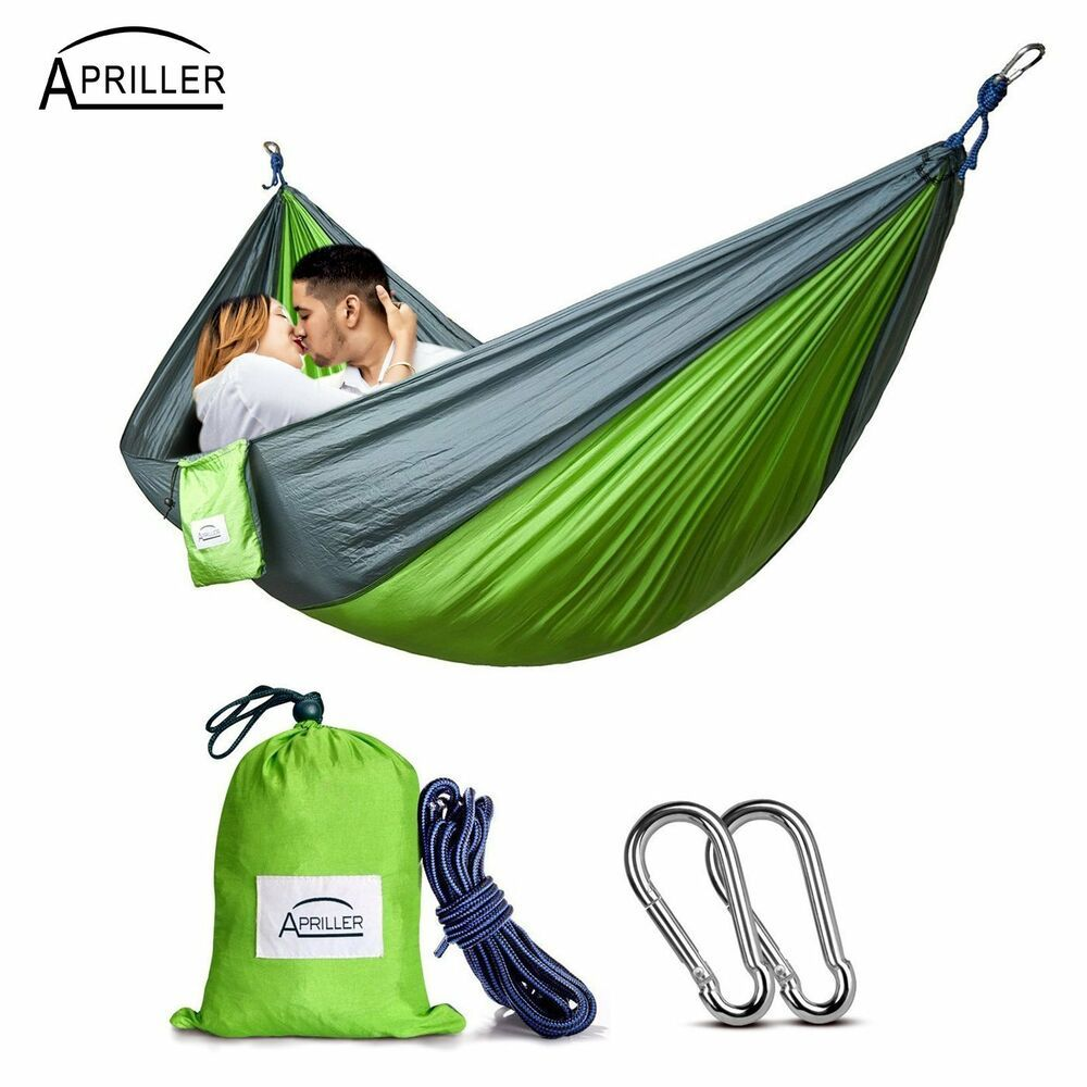 Yard. Double Camping Hammock Nylon Portable Hammock Beach Best Parachute Double Hammock For Backpacking Camping Travel