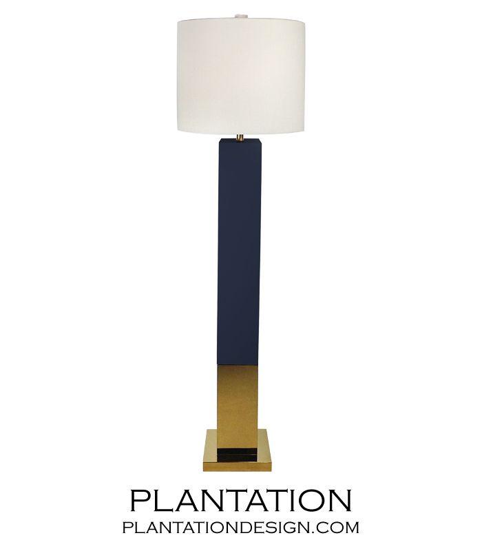 Lars Floor Lamp Navy With Images Floor Lamp Black Floor Lamp Lamp