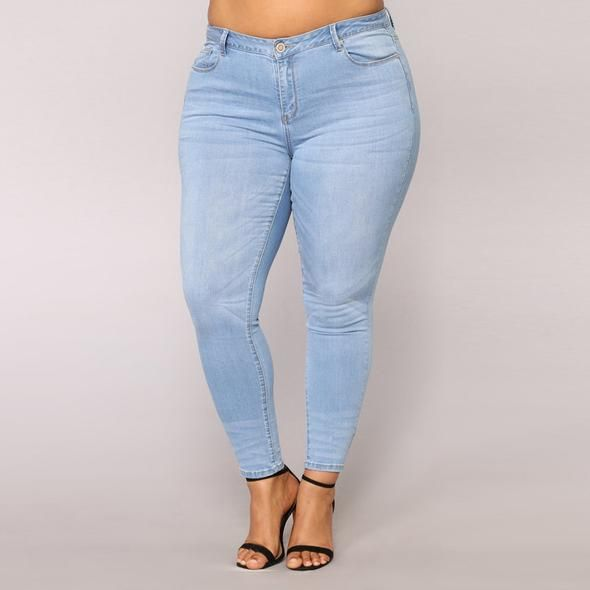 0a903055875 Women Plus Size Ripped Stretch Slim Denim Skinny Jeans Pants High Waist  Trousers  accessories  bottoms  coats  dresses  handbag  purse  holiday   leggings ...