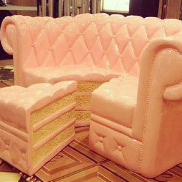 Cake Couch Or Is It A Couch Cake Either Way Its Super
