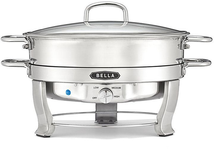 Bella 13423 5 Qt Stainless Steel Electric Chafing Dish Chafing