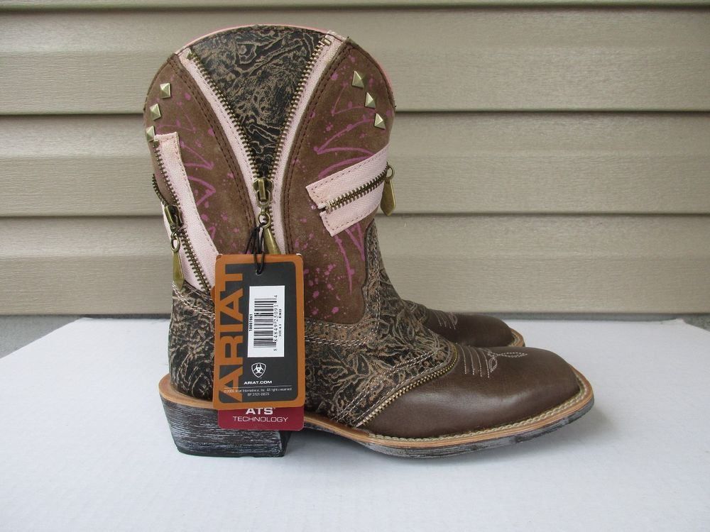 975c8fa2a37d Ariat Fatbaby women cowboy boots size 6.5 B New Square toe  Ariat   CowboyWestern