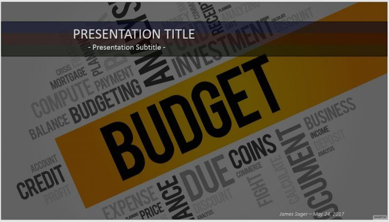 Budget Powerpoint 40675 Free Budget Powerpoint By Sagefox 10916