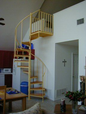 Best Loft In Master Bedroom With Spiral Staircase Bedroom 400 x 300