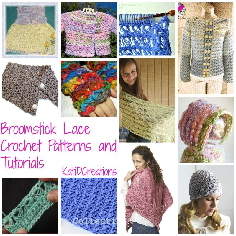 Broomstick Lace Crochet Patterns And Tutorials Stop Searching And