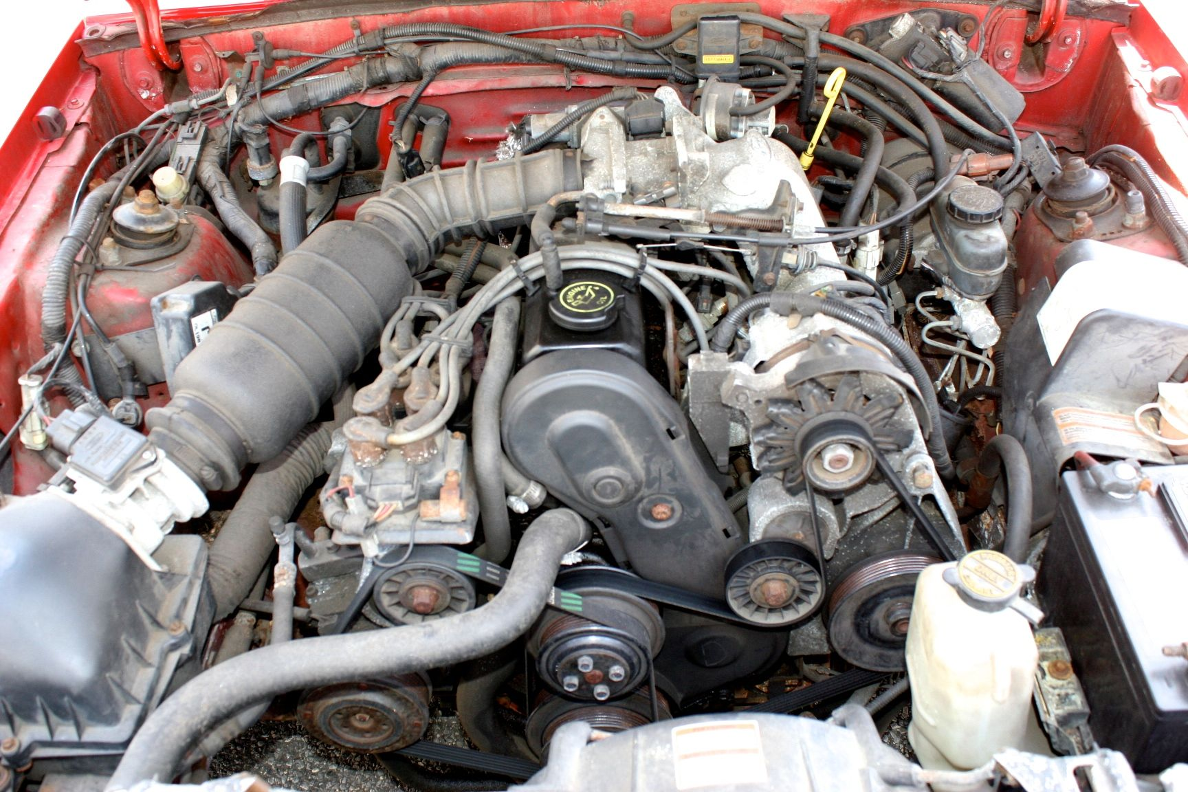 Ford Ranger 2.3 L Engine For Sale >> 1991 Ford Mustang Lx Convertible 2 3l Engine With 8 Spark