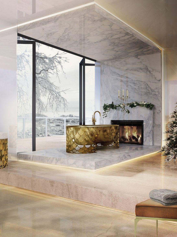Above exterior window decor  phenomenal christmas decor ideas for exquisite bathroom interiors