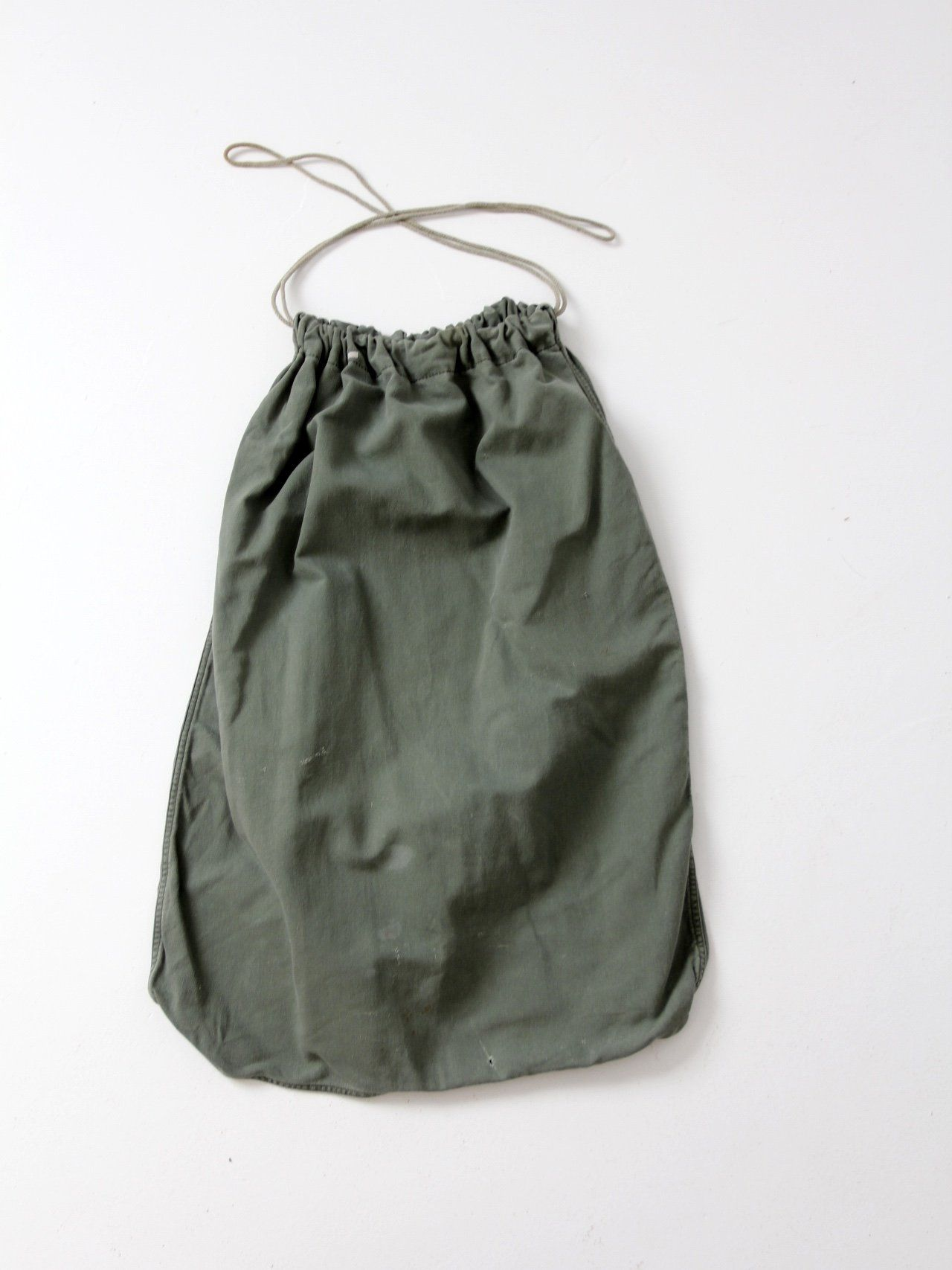 Vintage U S Army Drawstring Bag Bags Vintage Canvas Laundry Bag