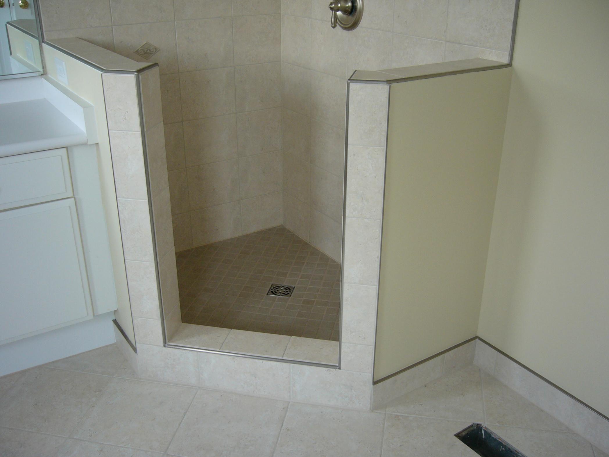Bathroom tile edge trim ideas bathroom exclusiv pinterest bathroom tile edge trim ideas dailygadgetfo Choice Image
