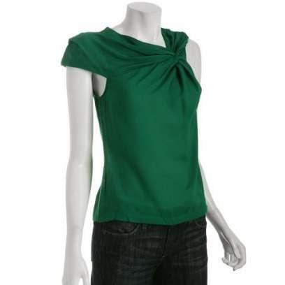 Emerald Green Tops For Women