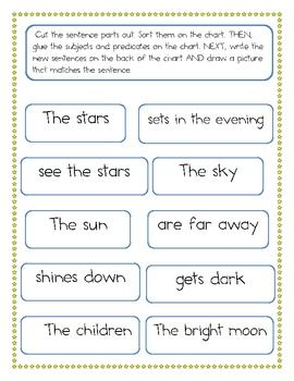 Identify subject and predicate Most Effective