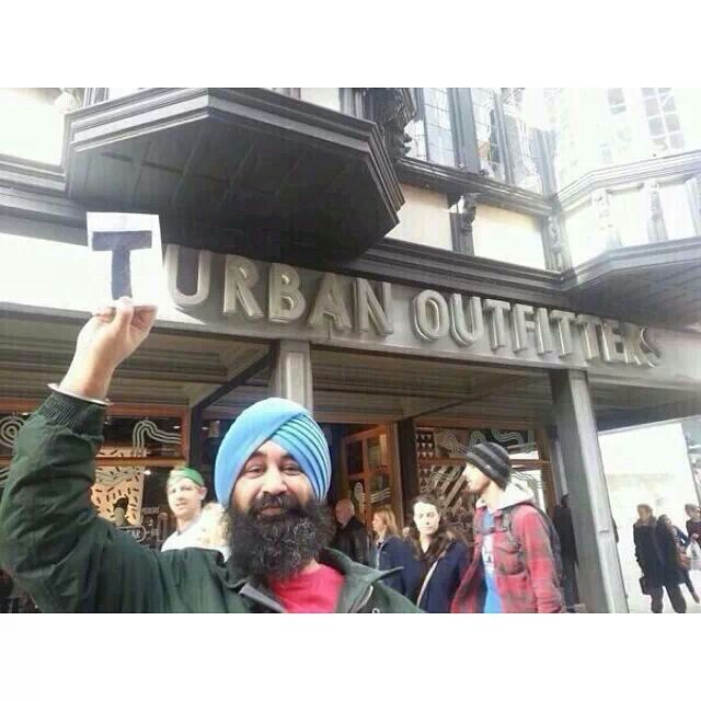 Turban outfitters, too funny!