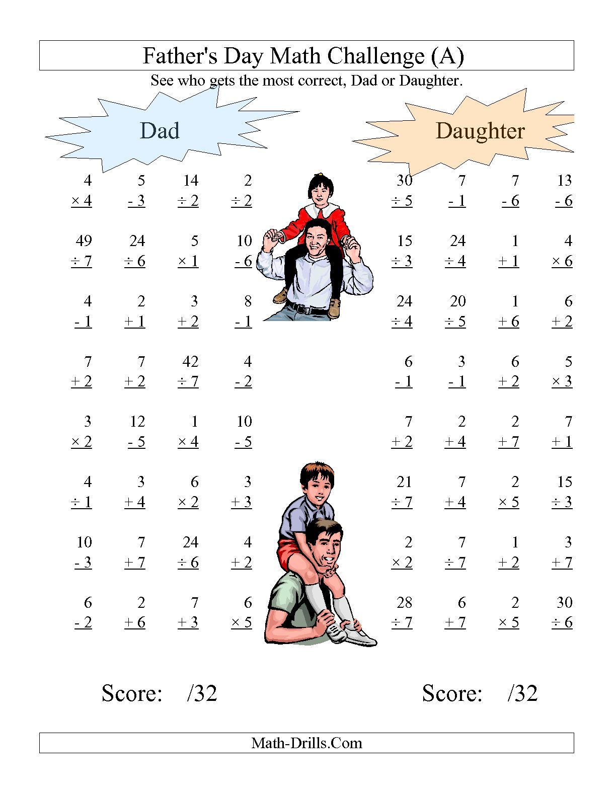 The Father S Day Dad And Daughter Challenge All