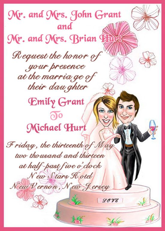 Guide To Wedding Invitations Messages 21st Bridal