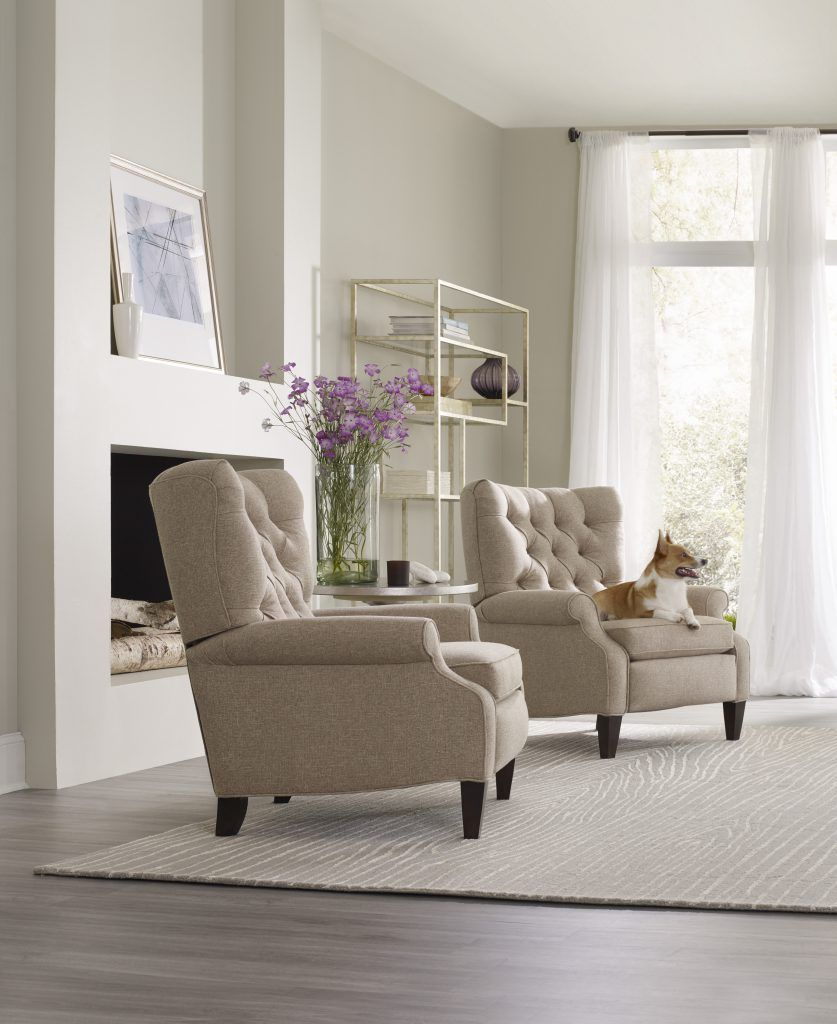 The Annick recliners offer a style that