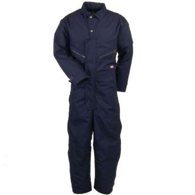 red kap coveralls men s navy insulated cd32 nd cotton on insulated overalls for men id=99511
