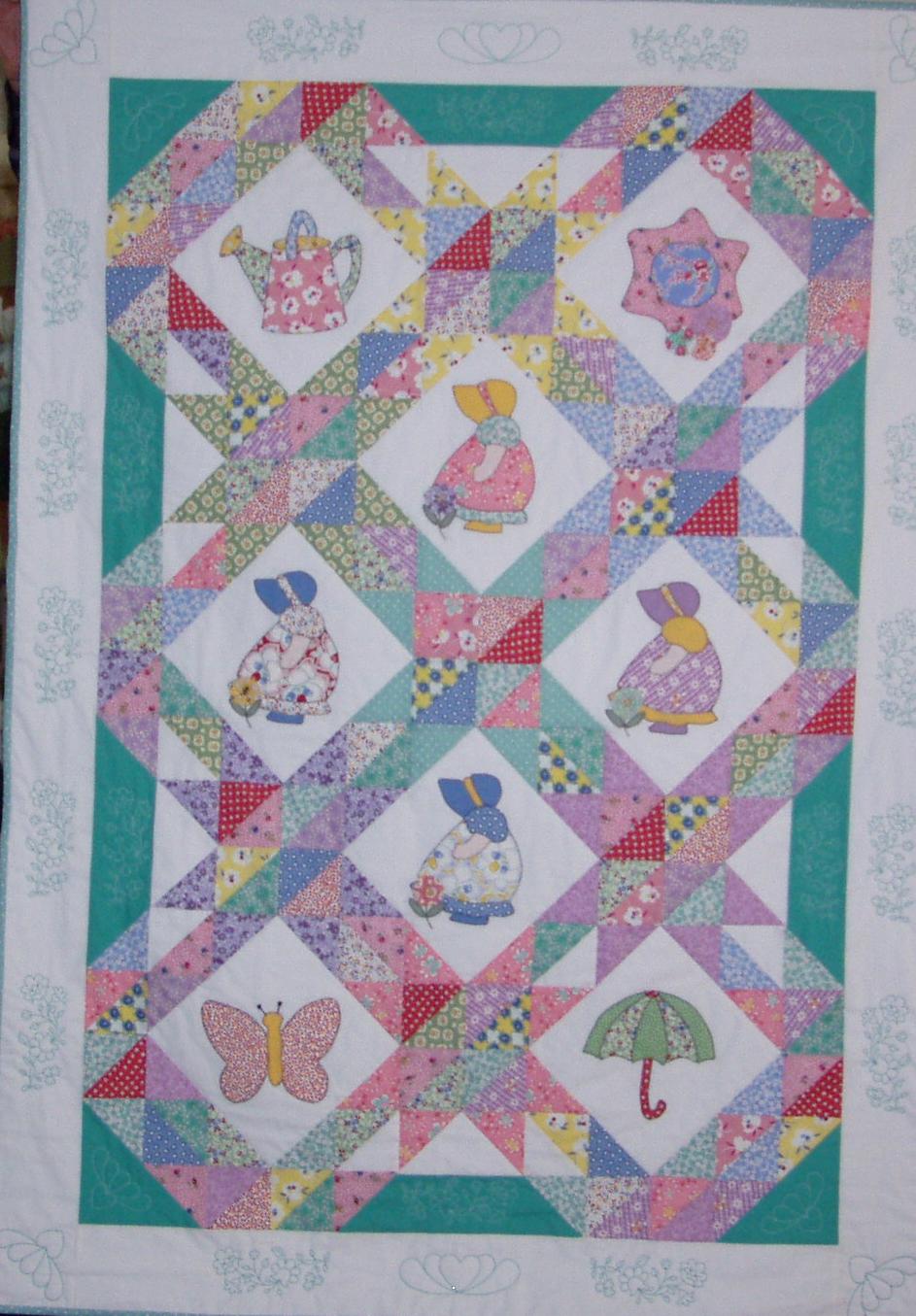 Sun Bonnet Sue Quilts Quilt Patterns Applique Quilts