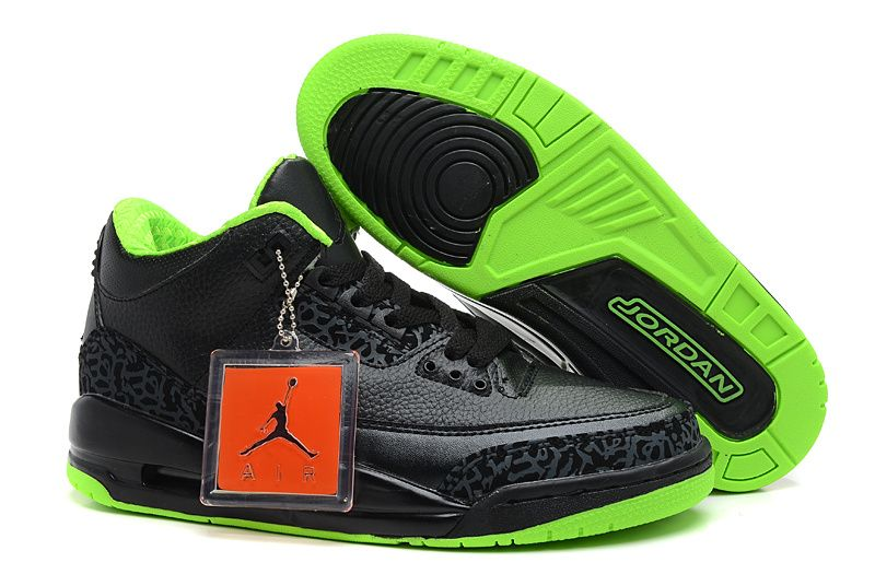 Air Jordan 3 XX8 Days Of Flight Joker Black Electric Green Cheap Jordans