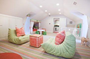 Fun Attic Room