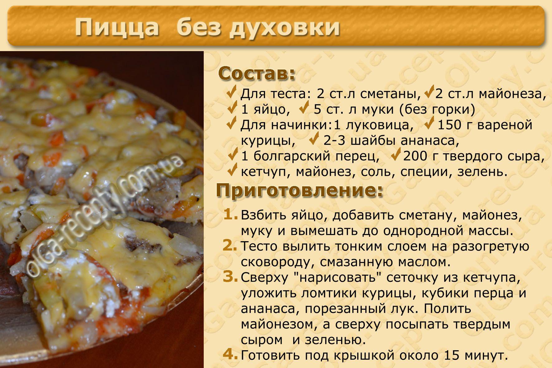Тесто для пиццы рецепт приготовления с фото назвать