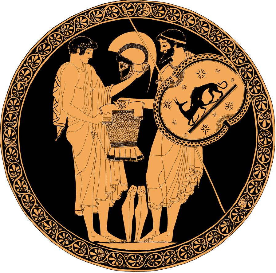 Greek vases tow solders odysseus and neoptolemos by brightstone greek vases tow solders odysseus and neoptolemos by brightstone on deviantart floridaeventfo Image collections