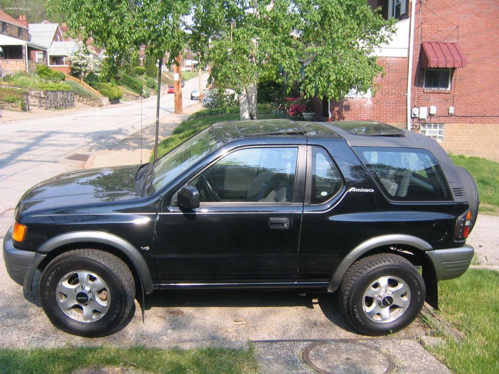 Isuzu Amigo Suv Black Car Image Site Suv Black Car Sport